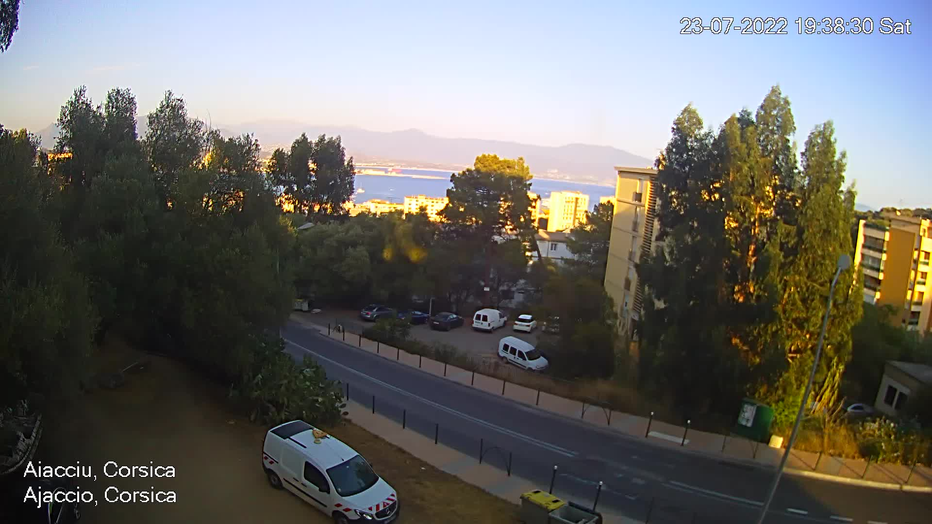 webcam Ajaccio