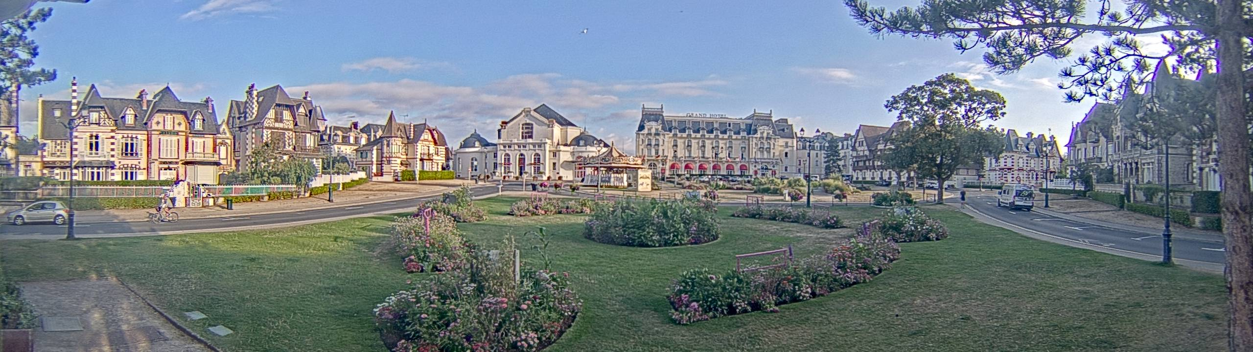 webcam Cabourg - Charles Bertrand
