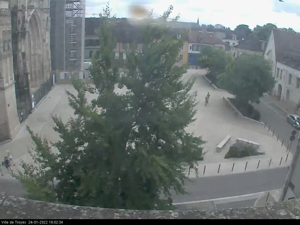webcam Troyes - Cathédrale Saint-Pierre