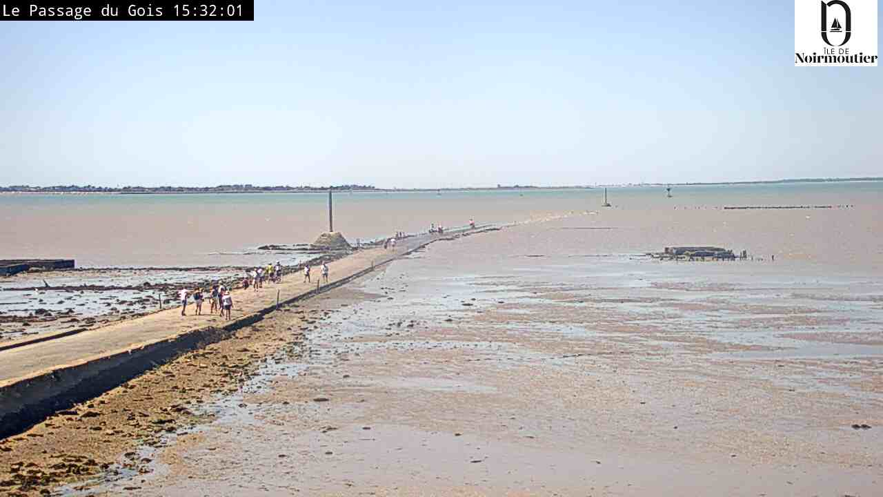 webcam passage du Gois