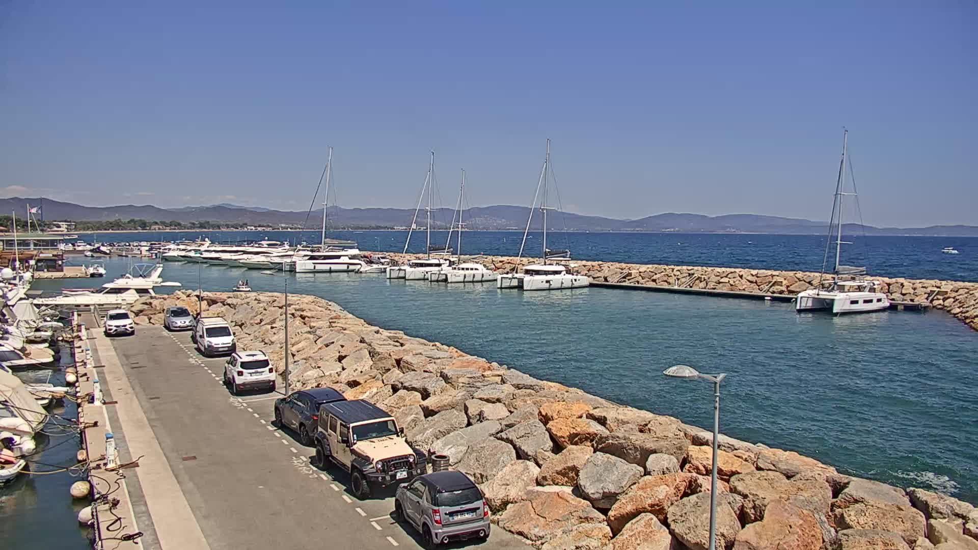 webcam port Saint-Pierre - Hyères
