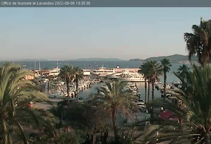 webcam Le Lavandou - Le Port